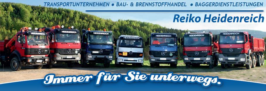 REIKO HEIDENREICH - Premium-Heizöl . Brennstoffe . Baustoffe . Transporte